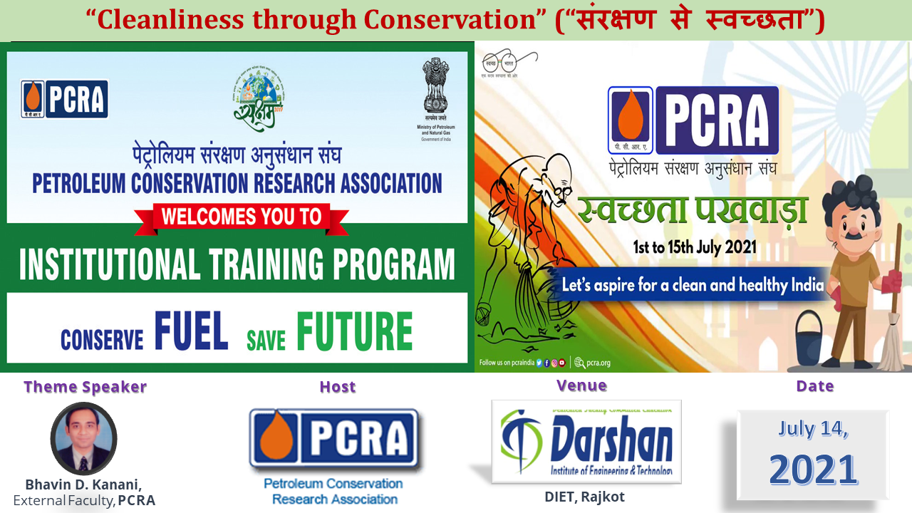 """A Workshop on """"Cleanliness through Conservation"""""""