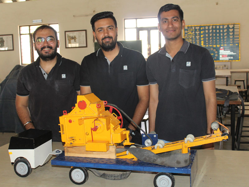 Department of Mechanical Engineering organized final year project exhibition on 27/03/2019