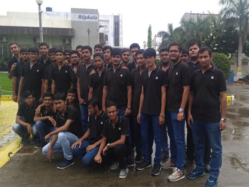 Industry Visit at Kishan Autoparts Pvt Ltd and Rupkala Engineers Pvt Ltd