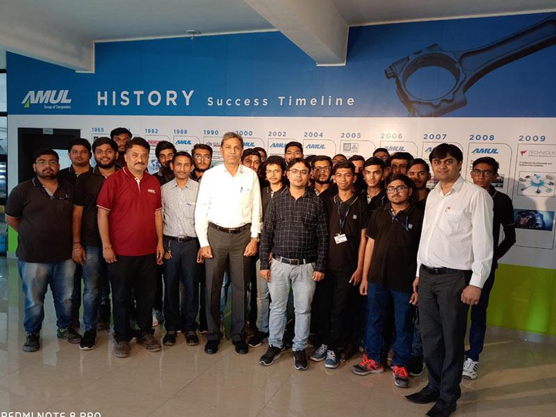 Industrial Visit at Amul Industries Pvt. Ltd.