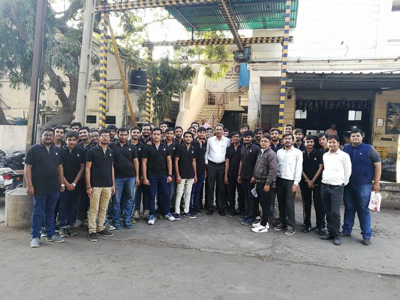 Industry Visit at Ravi Metal Treatment Pvt Ltd