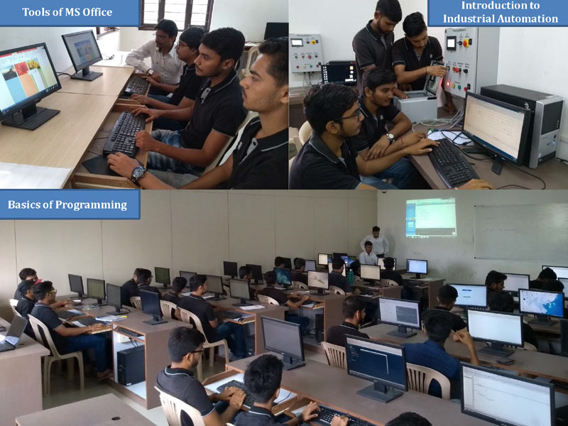 One-week training programs for 3rd, 5th and 7th-semester students of electrical engineering