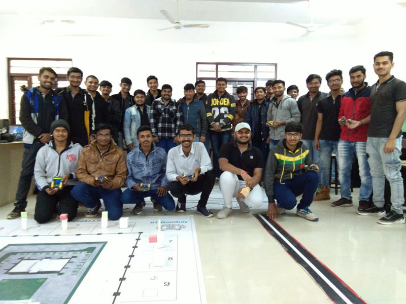 """One Day Workshop on """"Introduction to Robotics"""""""