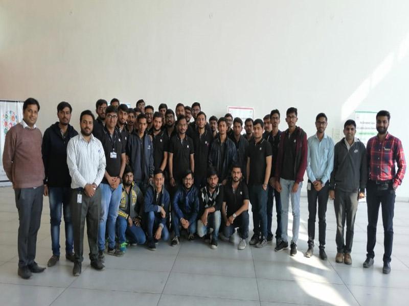 Industry Visit at Skill Development Centre; GIDC (Lodhika) Industrial Association & Jyoti CNC Automation Ltd.