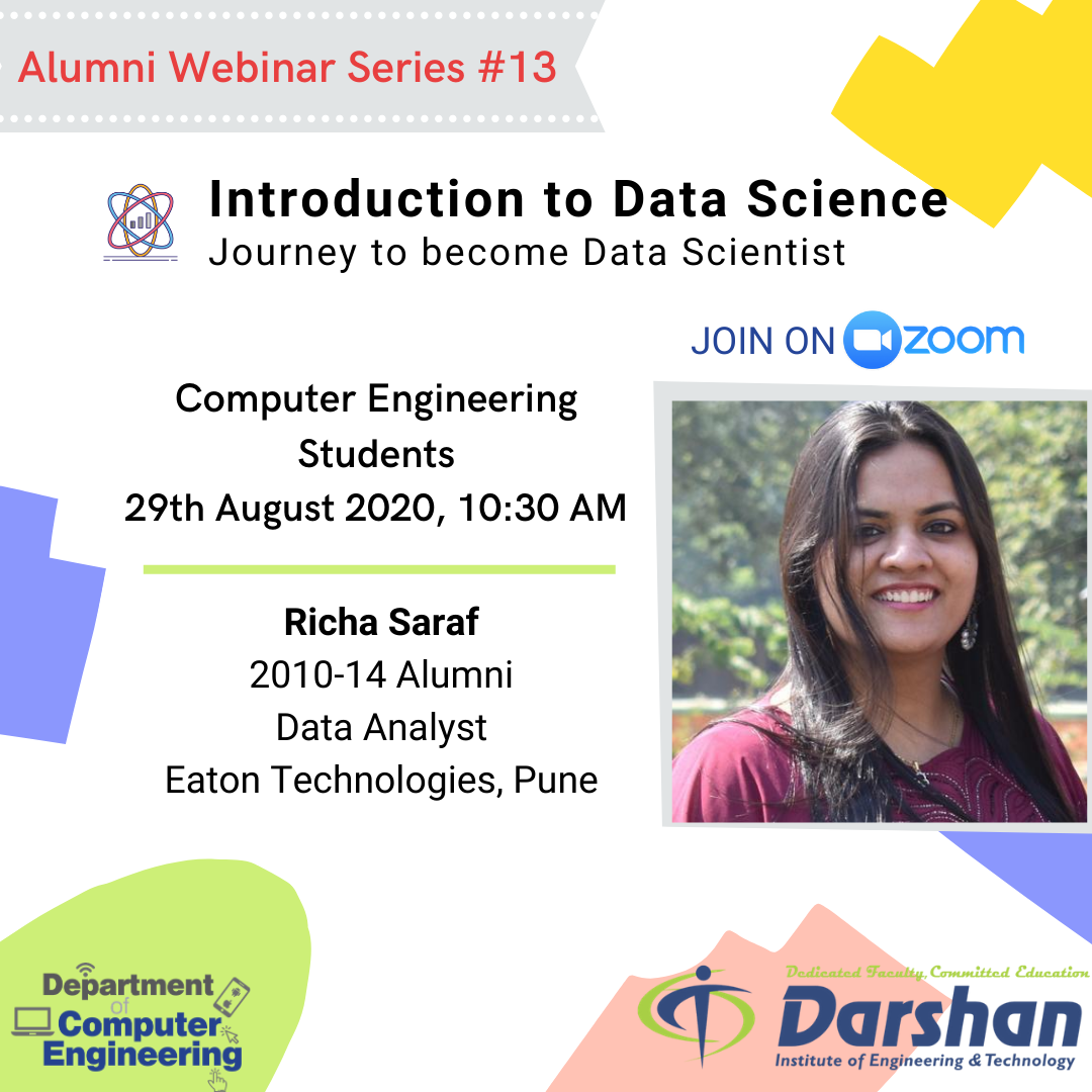 Webinar on Introduction to Data Science - Journey to become Data Scientist