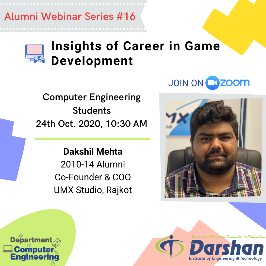 Webinar on Insights of Career in Game Development