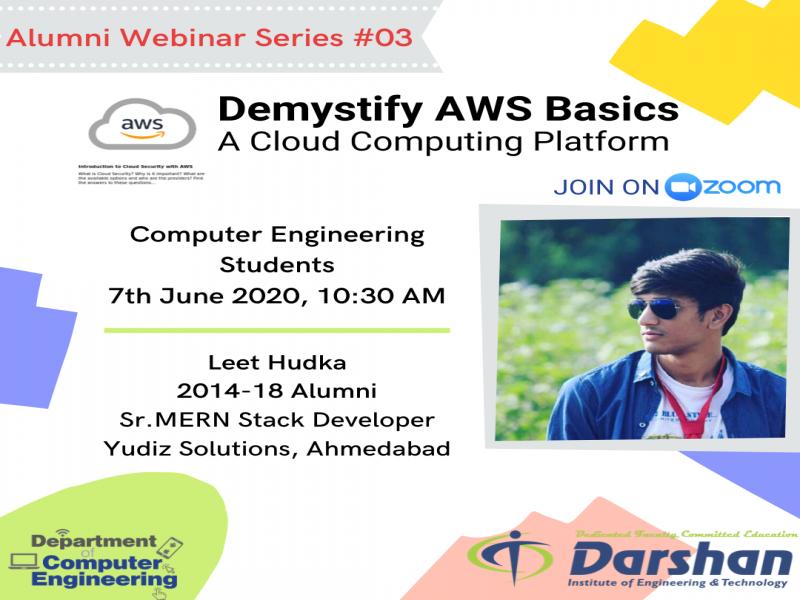 Webinar on Demystify AWS Basics - A Cloud Computing Platform