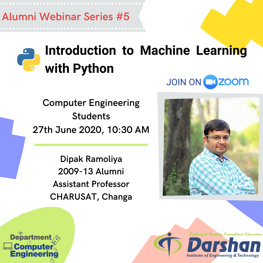 Webinar On Introduction to Machine Learning with Python